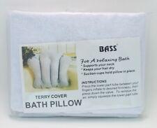 Terrycloth Bath Pillow Bass Brushes 1 Bath Pillow