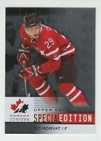 (56302) 2014-15 UPPER DECK TEAM CANADA JUNIORS BO HORVAT SPECIAL EDITION #SE-6