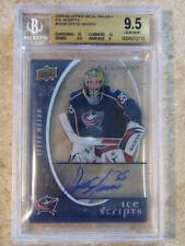 08-09 UD Trilogy Ice Scripts STEVE MASON Graded BGS 9.5