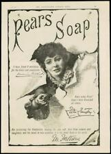 1887 Antique Print - ADVERTISING PEARS SOAP LILLIE LANGTRY M FORTESCUE (17)