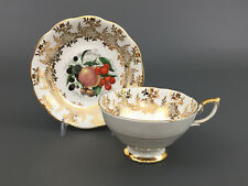 vintage Royal Standard fine bone china cup & saucer England 1940's