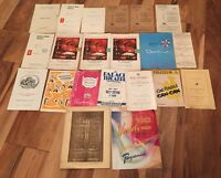 Fascinating Collection Of 1950S Theatre Programmes