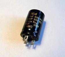 8uf + 8uf 500v Twin Doppio Condensatore Per Valvola Amplificatore per chitarra Audio Radiogramma
