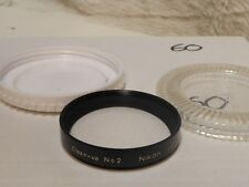 Nikon Vintage 52mm Close up Attachment no.2 filter macro vgc