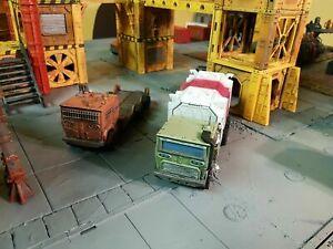Civilain Flatbed Truck Model- Warhammer 40k, Necromunda, Infinity