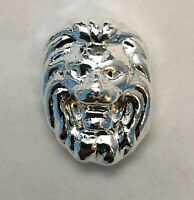 1 oz 999 Fine Silver Bullion Bar  by YPS - Yeager's Poured Silver - LION