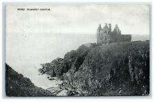 Picture Postcard Dunskey Castle Dumfries and Galloway Scotland posted 1922