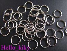 600 pcs Nickel plated split rings 8mm M278