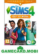 The Sims 4 Get to Work PC Key - Sims 4 GTW Addon DLC EA Origin Download Code
