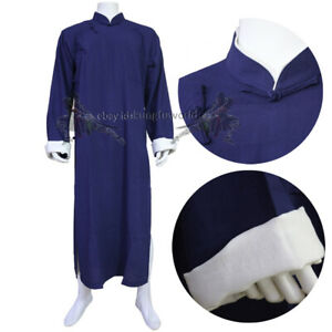 Custom IP MAN Shaolin Kung fu Robe Wing Chun Tai Chi Suit Martial arts Uniform