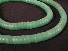 Vieja abalorios Bohemia 11mm Old Bohemian Glass trade beads kakamba verde afrozip