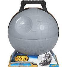 Hot Wheels Star Wars Death Star Play Case NEW MIP!