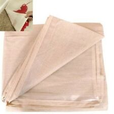 2 X POLY BACKED ECONOMY LAMINATED 12FT X 9FT 100% WATERPROOF COTTON DUST SHEETS.