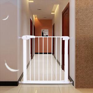 TECHTONGDA Concise Baby Safety Gate Door Walk Thru Pet Fence Extra