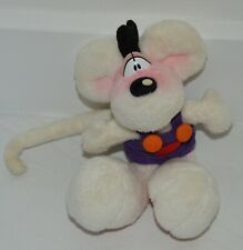 Belle petite peluche originale vintage souris DIDDL Depesche 16 cm