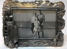 WHOLESALE... Golf Frame/ Pewter Picture Frame 3.5 x 5 (LOT 5)