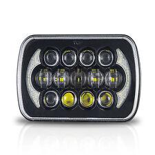Black Projector 7X6 LED Headlight HID Light Bulbs Sealed Beam Headlamp DRL 1LAMP