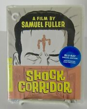 Shock Corridor Criterion Blu-ray Jan 2011 Sam Fuller Classic Drama 1963 New