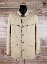 Marlboro Classics Legendary Sportswear Cotton Linen Men Jacket Size 54EU,Genuine