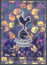 TOPPS MATCH ATTAX 2016-17- #289-TOTTENHAM HOTSPUR TEAM BADGE-SILVER FOIL