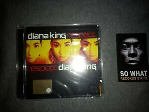 DIANA KING - RESPECT. CD NEW SEALED