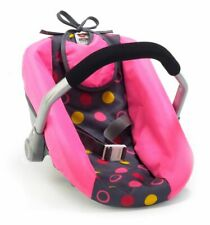 Chic Dolls Car Seat, Funny Pink