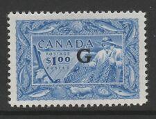 CANADA 1950-51 $1.00 ULTRAMARINE SG O192 MINT.