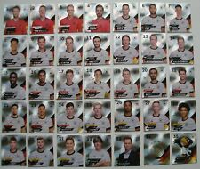 Auswahl Rewe DFB EM 2020 aus allen 35 Glitzer Sammelkarten Sets Sticker Tüten