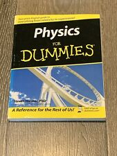 Physics for Dummies by Steven Holzner (2005, Trade Paperback)