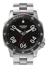 NEW NIXON RANGER Watch | Black / Silver | Quartz Analog | A506 000 | Authentic