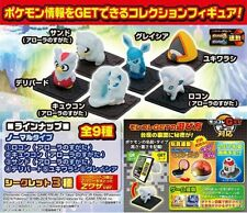 Pokemon Sun Moon Ice-type Monster Collection GET 1 PC Blind Box Toys QR code V.8