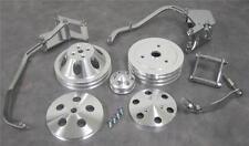 RETURN SALE Chevy Short Pump Engine Bracket & Pulley Kit Alternator Compressor +