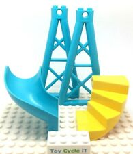 LEGO Playground Slide, A-Frame for Swings And Stairs Bundle - NEW