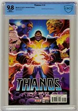 THANOS #14 Marvel 2018 CBCS 9.8 Cosmic Ghost Rider 2nd Print Wins Equals Top CGC