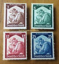 EBS Germany 1935 Saar Plebiscite - Saarabstimmung Michel 565-568 MNG