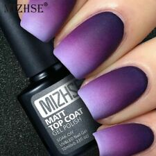 MIZHSE Matte Top Coat UV Gel Nail Polish Matt  Vernis No Wipe UV Top Gel Art