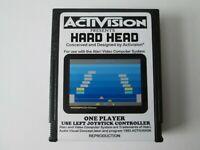 Atari 2600 HARD HEAD Video Game Cartridge