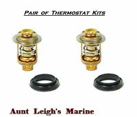Two (2) Thermostat Kits Johnson Evinrude (5 - 235 HP) 18-3672 434841 310058