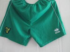 Harry Toffolo Player Issue Norwich City 2011-2012 Hogar Fútbol Pantalones Cortos