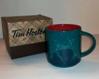 NEW Tim Horton's 2017 Holiday Coffee Mug Cup BEAR Limited Edition