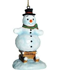 M.I. Hummel Snow Day Fun Snowman Ornament Nib #827402