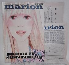 ++ Marion Modejournal für Selbstschneiderinnen Februar 2 / 1973  ++