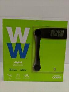 WW Weight Watchers Conair Digital Tempered Glass Scale WW202 NEW