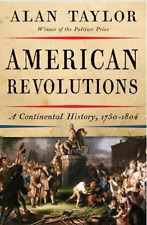 paper Book and kindle, American Revolutions: A Continental History, 1750-1804