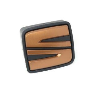 Seat Leon 5F Cupra Heckklappengriff Griff Heckklappe Hinten Kupfer Emblem Logo