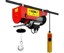 125/250KG 510 Watt Motor Electric Hoist 18M Height Heavy Objects Lifting Winch