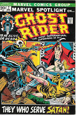 Marvel Spotlight On... Comic Book #7 Ghost Rider 1972 VERY FINE-