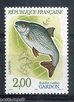 FRANCE - 1990 - timbre 2663, ANIMAUX, POISSONS, GARDON, neuf**