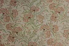Antique French SHEER art Nouveau light weight cotton printed material