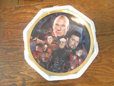 "STAR TREK COLLLECTOR""S PLATE HAMILTON COLLECTION THE BEST OF BOTH WORLDS"